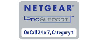 NETGEAR ProSUPPORT OnCall 24x7 1-Year Category 1 NETGEAR Licence