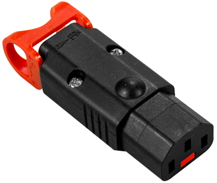 IEC Lock+ C13 Rewireable Connector