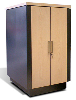 24u Office Styled Server Cabinet